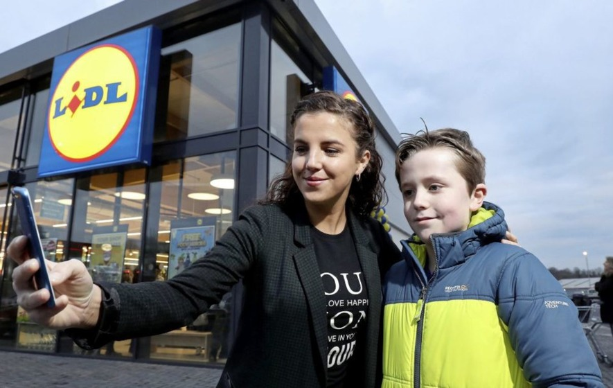 Derry Girls Actress Opens Lidl Store In Magherafelt The