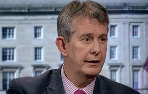 Edwin Poots claims joint authorship of leaked draft but Arlene Foster claims there were 'numerous documents' circulating