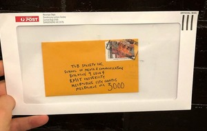 People love this story of a man who took delivery of an almost impossibly tiny envelope