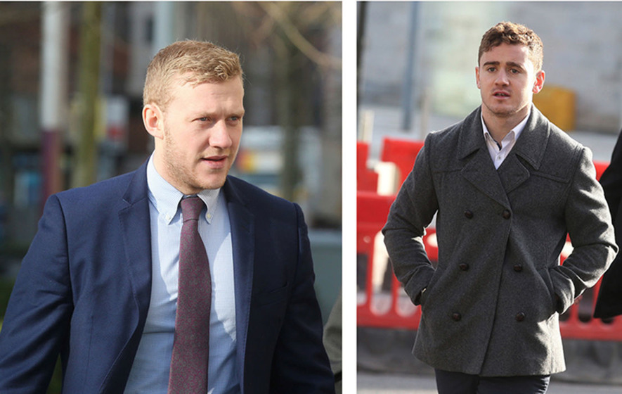 Belfast rape trial: Olding says woman invited him to join sexual activity