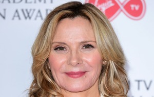 Kim Cattrall pays tribute to her brother in Edinburgh