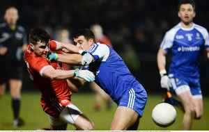 Monaghan edge Tyrone by a single point in Ulster derby
