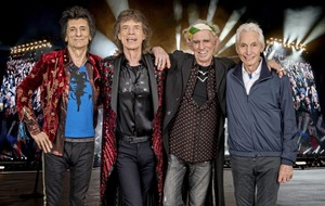 Rolling Stones heading for Croke Park on May 17