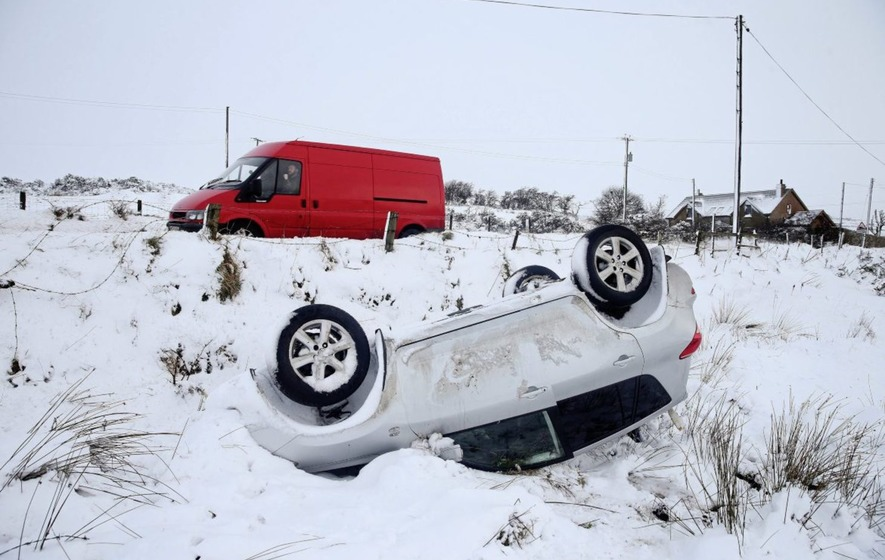 How is the Beast from the East affecting your travel plans today?