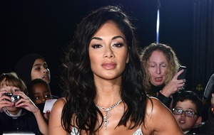 Nicole Scherzinger wows fans with upside down Pilates photo