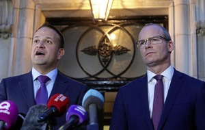 Taoiseach and tánaiste 'on same page' over Brexit border progress