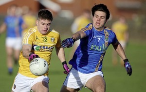 Laois game is championship for Antrim says McBride