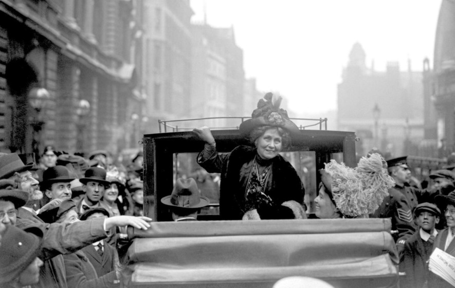 Emmeline Pankhurst in London 1912