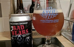Craft Beer: Hillstown Slovenia link-up 3 Bad Bears has mountains of flavour
