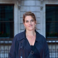 Tracey Emin creating a 20-metre long text work for St Pancras station