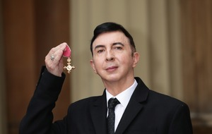 Marc Almond collects OBE as he prepares for Soft Cell's swansong performance