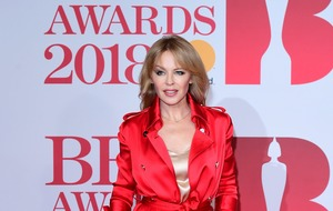 Kylie Minogue praises Time's Up for giving others a voice
