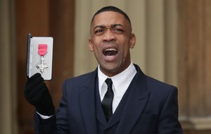 Wiley picks up MBE: I never thought royals would know of grime