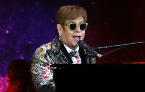 Sir Elton John hits out at 'disruptive' fan after walking off Las Vegas stage