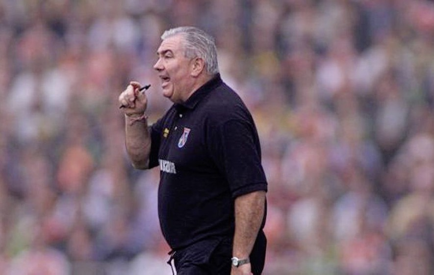 Armagh legend Joe Kernan bids a fond farewell to football management - The  Irish News