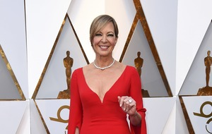 Allison Janney among stars sporting bold colours at the Oscars