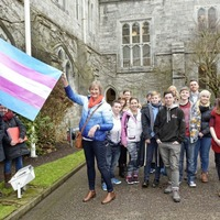 Transgender Pride Flag flying at UCC in first for Irish universities