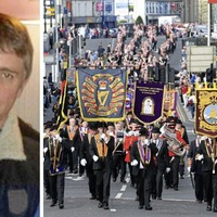 Fisherman tells of shame over assault at Orange march - but denies being sectarian