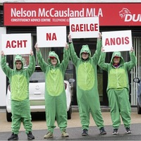 Poll suggests attitudes towards Irish language act more entrenched after collapse of talks