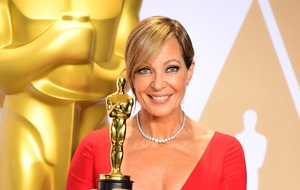 Allison Janney marks Oscars success with 'I survived awards season' T-shirt