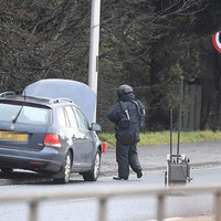 Car fire 'down to mechanical fault' after bomb squad sent to investigate blaze