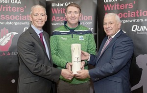 Sharpshooter Seamus Quigley scoops Writers award