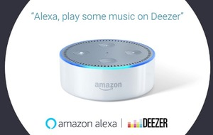 Deezer is now available through Amazon Alexa