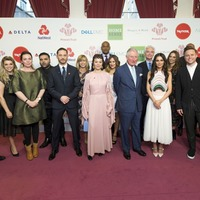 In Pictures: Celebrities join Charles at Prince's Trust Awards