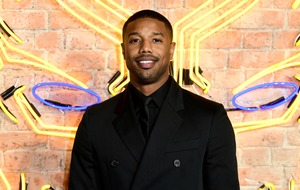 Michael B Jordan offers to compensate fan who broke brace during Black Panther