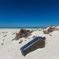 130-year-old message found in bottle on Australian island beach