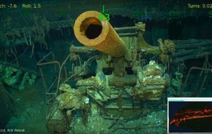 Microsoft co-founder Paul Allen discovers lost WWII aircraft carrier