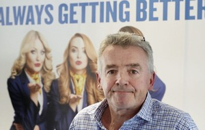 Ryanair chief executive Michael O'Leary becomes Ireland's latest billionaire