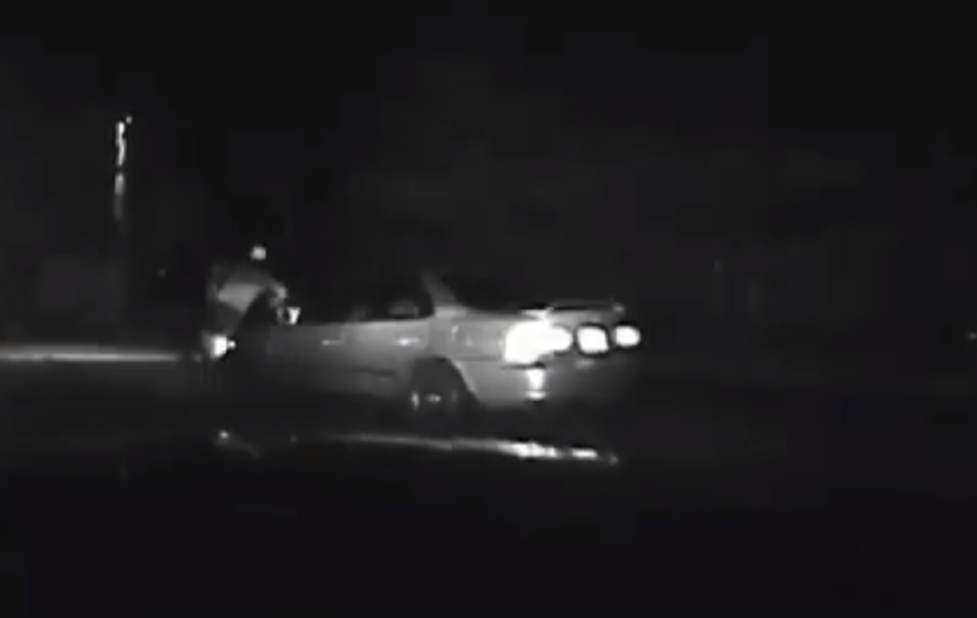 Video shows man fleeing Virginia police get hit by own vehicle