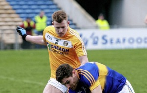 Antrim defender Peter Healy calm about Allianz Football League schedule