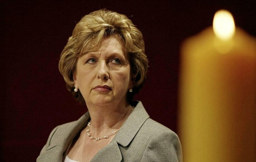 Former Irish president condemns Catholic Church as 'empire of misogyny'