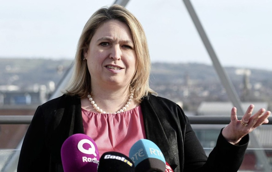 Secretary of state unveils direct rule budget for Northern Ireland