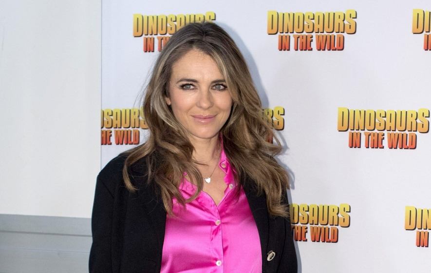 Elizabeth Hurley flies to London after nephew brutally stabbed