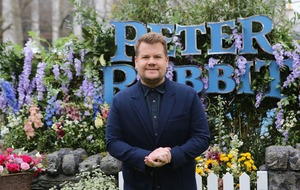 James Corden dismisses 'snobby' Peter Rabbit critics