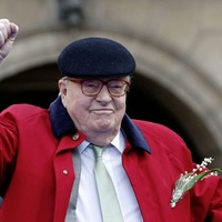 Far-right French party severs ties to firebrand founder Jean-Marie Le Pen