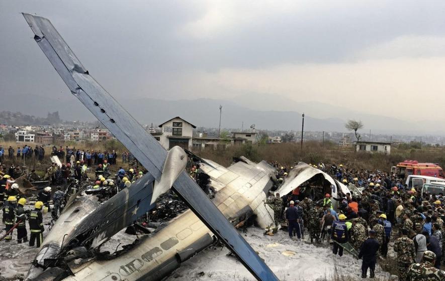 At least 40 dead, 23 injured in Kathmandu plane crash