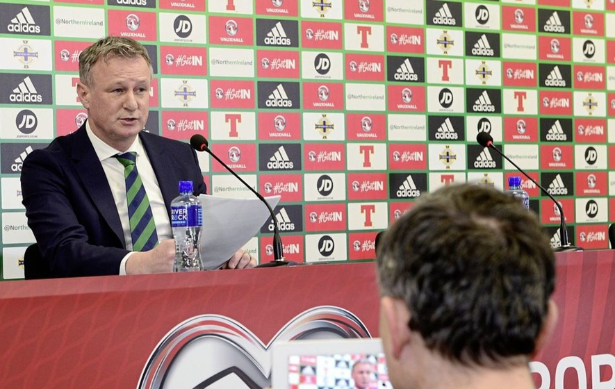 Michael O'Neill says his comments have been misunderstood