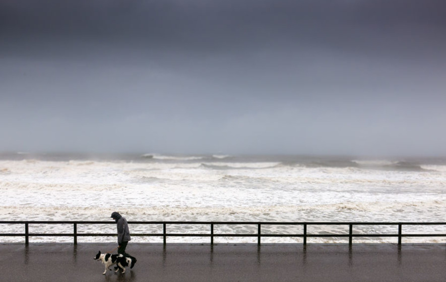 A weather warning has been issued for the eastern part of Northern Ireland