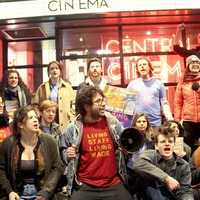 Workers at five London cinemas are back on strike