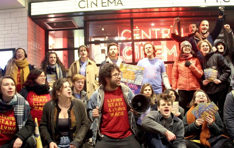 Workers at five London cinemas are back on strike - The Irish News