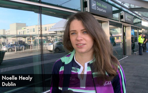 Video: TG4 Ladies Gaelic Football All Stars jet off to Bangkok