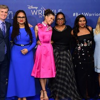 In Pictures: Oprah Winfrey jets in for Wrinkle In Time premiere