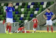 Joe Gormley strikes late as Cliftonville knock Linfield out of Irish Cup