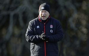 England rugby coach Eddie Jones 'very sorry' for 'scummy Irish' video