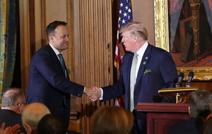 Donald Trump will visit Ireland and the 'interesting border'