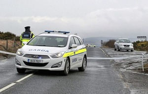 Gardai helped road victim just before fatal accident